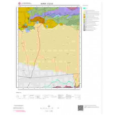 H23a3 Paftası 1/25.000 Ölçekli Vektör Jeoloji Haritası