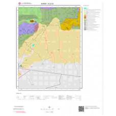 H23a4 Paftası 1/25.000 Ölçekli Vektör Jeoloji Haritası