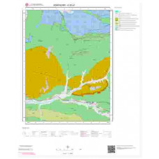 H25a1 Paftası 1/25.000 Ölçekli Vektör Jeoloji Haritası