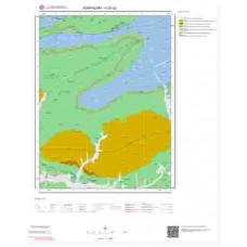 H25a2 Paftası 1/25.000 Ölçekli Vektör Jeoloji Haritası
