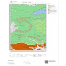 H25a3 Paftası 1/25.000 Ölçekli Vektör Jeoloji Haritası