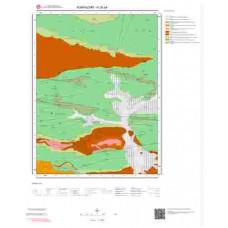 H25a4 Paftası 1/25.000 Ölçekli Vektör Jeoloji Haritası