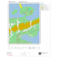 H25b1 Paftası 1/25.000 Ölçekli Vektör Jeoloji Haritası