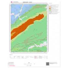 H26a1 Paftası 1/25.000 Ölçekli Vektör Jeoloji Haritası