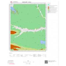 H26a3 Paftası 1/25.000 Ölçekli Vektör Jeoloji Haritası