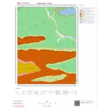 H26a4 Paftası 1/25.000 Ölçekli Vektör Jeoloji Haritası