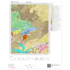 H27 Paftası 1/100.000 Ölçekli Vektör Jeoloji Haritası
