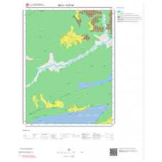 H27a4 Paftası 1/25.000 Ölçekli Vektör Jeoloji Haritası