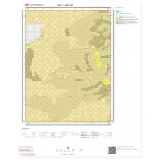 H28a2 Paftası 1/25.000 Ölçekli Vektör Jeoloji Haritası