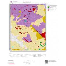 H34a1 Paftası 1/25.000 Ölçekli Vektör Jeoloji Haritası