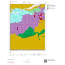 H34a3 Paftası 1/25.000 Ölçekli Vektör Jeoloji Haritası