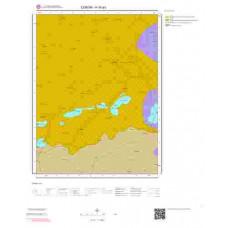 H 35-a3 Paftası 1/25.000 ölçekli Jeoloji Haritası
