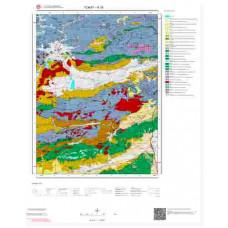 H 36 Paftası 1/100.000 ölçekli Jeoloji Haritası