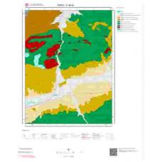 H 36-c4 Paftası 1/25.000 ölçekli Jeoloji Haritası