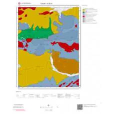 H 36-d1 Paftası 1/25.000 ölçekli Jeoloji Haritası