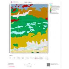 H 36-d3 Paftası 1/25.000 ölçekli Jeoloji Haritası