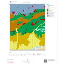 H 36-d4 Paftası 1/25.000 ölçekli Jeoloji Haritası