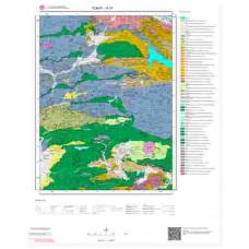 H37 Paftası 1/100.000 Ölçekli Vektör Jeoloji Haritası