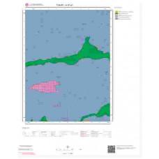 H37a1 Paftası 1/25.000 Ölçekli Vektör Jeoloji Haritası