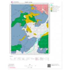 H37a2 Paftası 1/25.000 Ölçekli Vektör Jeoloji Haritası
