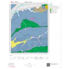 H37a3 Paftası 1/25.000 Ölçekli Vektör Jeoloji Haritası