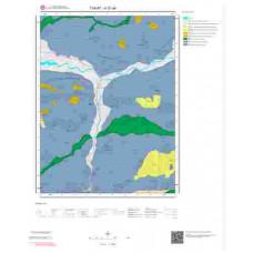 H 37-a4 Paftası 1/25.000 ölçekli Jeoloji Haritası