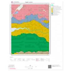 H37b1 Paftası 1/25.000 Ölçekli Vektör Jeoloji Haritası
