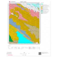 H37b2 Paftası 1/25.000 Ölçekli Vektör Jeoloji Haritası