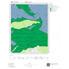 H 37-c1 Paftası 1/25.000 ölçekli Jeoloji Haritası