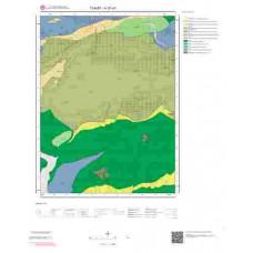 H 37-d1 Paftası 1/25.000 ölçekli Jeoloji Haritası