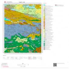 H 38 Paftası 1/100.000 ölçekli Jeoloji Haritası