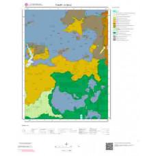 H 38-c2 Paftası 1/25.000 ölçekli Jeoloji Haritası