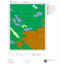 H 38-c3 Paftası 1/25.000 ölçekli Jeoloji Haritası