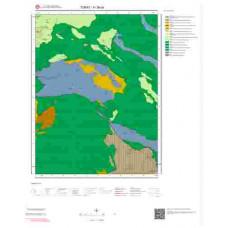 H 38-c4 Paftası 1/25.000 ölçekli Jeoloji Haritası