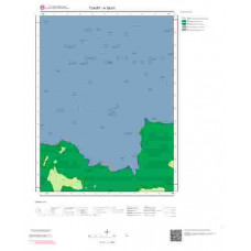 H 38-d1 Paftası 1/25.000 ölçekli Jeoloji Haritası