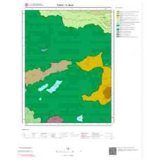H 38-d3 Paftası 1/25.000 ölçekli Jeoloji Haritası
