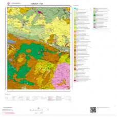 H 39 Paftası 1/100.000 ölçekli Jeoloji Haritası