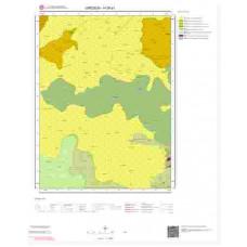 H39a1 Paftası 1/25.000 Ölçekli Vektör Jeoloji Haritası