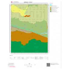H39a3 Paftası 1/25.000 Ölçekli Vektör Jeoloji Haritası