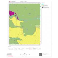 H39b1 Paftası 1/25.000 Ölçekli Vektör Jeoloji Haritası