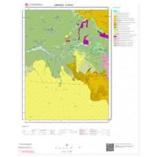 H39b2 Paftası 1/25.000 Ölçekli Vektör Jeoloji Haritası
