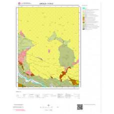 H39b3 Paftası 1/25.000 Ölçekli Vektör Jeoloji Haritası