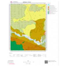 H39b4 Paftası 1/25.000 Ölçekli Vektör Jeoloji Haritası