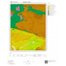 H39c1 Paftası 1/25.000 Ölçekli Vektör Jeoloji Haritası