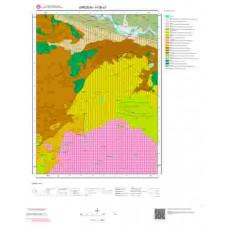 H39c2 Paftası 1/25.000 Ölçekli Vektör Jeoloji Haritası