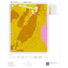 H39c4 Paftası 1/25.000 Ölçekli Vektör Jeoloji Haritası