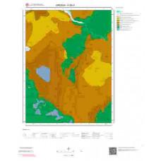 H39d1 Paftası 1/25.000 Ölçekli Vektör Jeoloji Haritası