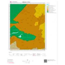 H39d3 Paftası 1/25.000 Ölçekli Vektör Jeoloji Haritası