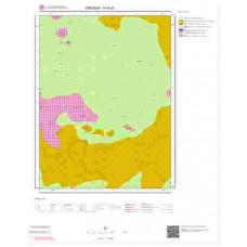 H40a1 Paftası 1/25.000 Ölçekli Vektör Jeoloji Haritası