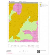 H40a2 Paftası 1/25.000 Ölçekli Vektör Jeoloji Haritası